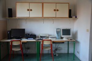 Foto laboratorio di informatica